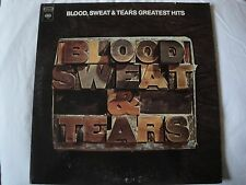 BLOOD SWEAT & TEARS GREATEST HITS VINYL LP AND WHEN I DIE, SPINNING WHEEL, HI DE