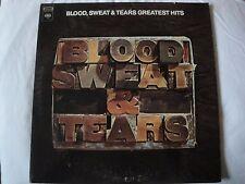 BLOOD SWEAT & TEARS GREATEST HITS VINYL LP AND WHEN I DIE, SPINNING WHEEL, HI DE