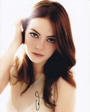 EMMA STONE Signed Photo w/ Hologram COA