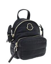 Moncler Kilia Mini Backpack Crossbody Bag Black Nylon Bew