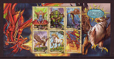 AUSTRALIA 2011 SPECIAL OFFER MYTHICAL CREATURES MINIATURE SHEET  CTO
