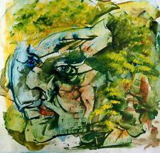 Original MIX.MEDIA on  paper contemporary art ABSTRACT V.Pronkin 2020  PALLET 32