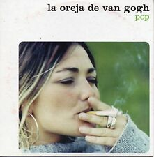 "LA OREJA DE VAN GOGH ""POP"" RARE SPANISH PROMOTIONAL CD SINGLE / AMAIA MONTERO"
