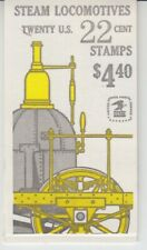Railway - Locomotives USA 1953 - 57 Stamp Booklet (MNH)