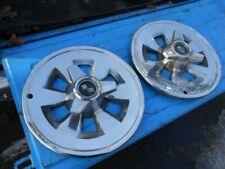65 1965 Chevrolet Corvette (2) 15 inch spinner wheel covers original GM