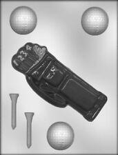 Golf Bag, Tee's, & Balls Chocolate & Soap Mold - 90-6805