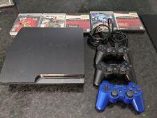 Sony PlayStation 3 -160GB Black w/2 controllers
