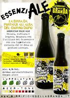 12 botellas Cerveza artigianaale Apa Esencial fábrica de la Granda 33 cl