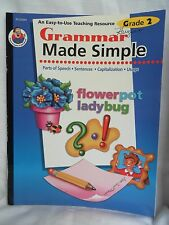 Two Books Grammar Made Simple Grade 2 & Activities For Any Spelling Unit Primary
