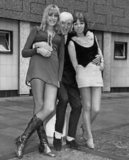 Jimmy Savile Nova Sainte-Claire and Chris Marlowe at London 1968 OLD PHOTO