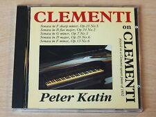 Peter Katin/Clementi Sonatas/1993 CD Album