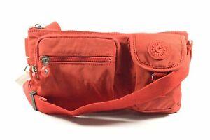 Kipling AC3397 6CQ Presto Cherry Tonal Convertible Crossbody Belt Bag