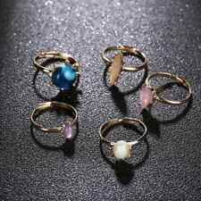 5in1 Turkish Nature Stone Rings Sets