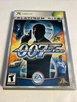 James Bond - 007 Agent Under Fire - Platinum Hits (Microsoft Xbox, 2002)