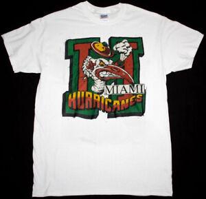 Vintage NCAA Miami Hurricanes Champions Shirt, University of Miami Shirt TK2770