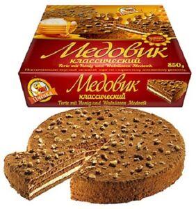 Honigtorte Medowik 850g Torten  Medovik Медовик