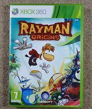 Rayman Origins Xbox 360 UK PAL-FREEPOST-complet.