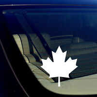 Canadian Maple Leaf Canada Vinyl Flag Window Laptop Bumper Decal Sticker #VC1