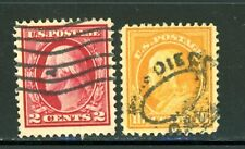 US Scott # 375, 381 - Used
