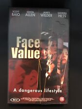 Face Value VHS Tape English with dutch subs