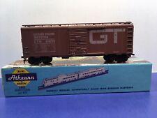 "HO Scale ""Grand Trunk Western"" GTW 516158 40' Freight Train Box Car / Athearn"