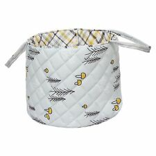 Quilted Basket For Baby Nursery Baby Care Baby Clothing Size 30x40 Cms