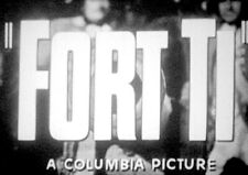 """""""FORT TI"""" - 16mm full theatrical trailer George Montgomery action western"""