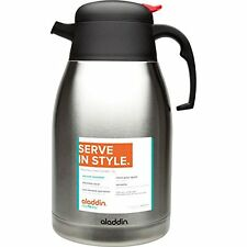 Aladdin Vacuum Insulated 2L (67.6oz) Stainless Steel Carafe **READ-NEW**