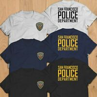 New San Francisco California Police Department Unit Rescue Custom T-Shirt Tee