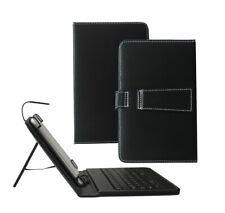 "Stylish USB Keyboard 7"" Leather Stand Case for ASUS Google Nexus 7 Tablet"