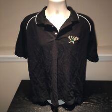 Dallas Stars Antigua Desert Dry Performance Polo Shirt NHL Hockey Mens Medium