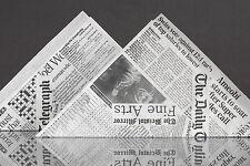 """50 Spitztüten Papierspitztüten Fish & Chips Pommestüten """"The Daily Telegraph"""""""