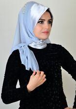 DRP84 Draperie Chiffon Fertig Kopftuch Hazir Türban Sal Tesettür Hijab Khimar