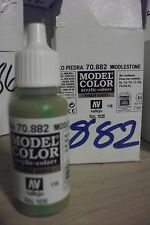 MODEL HOBBY PAINT 17ml BOTTLE  VAL882 	 AV Vallejo Model Color - Middlestone