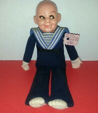 Vintage Norah Wellings Sailor Boy Doll 11 inches