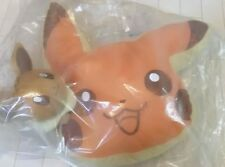 Ichiban kuji Pokemon collection 2018 Pikachu & Eevee C prize pancake cushion