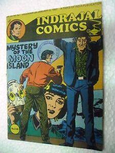 PHIL CORRIGAN MYSTERY MOON ISLAND  VOL 23 NO 52  INDRAJAL Comic ENGLISH  India