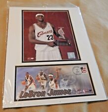 LeBRON JAMES- USPS FIRST DAY OF ISSUE 2004 STAMP & POSTER NBA ROOKIE BASKETBALL