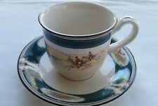 Noritake Keltcraft Pursuit Ireland Cup and Saucer No Fade