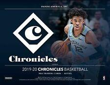 2019/20 Chronicles Basketball 180ct 12pk Fat Pack Cello Box PreSale Prizm Update
