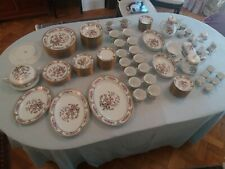 """IVORY CHINA """"ASIAN DREAM"""" PATTERN NORATAKE 126 PIECE DINNER, TEA  AND COFFEE SET"""