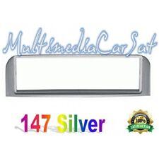 Mascherina Autoradio 1 DIN Alfa 147 Grigio Silver Metallizzato 3262