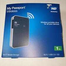 "Western Digital My Passport 1 TB, Extern, 2.5"" (WDBHDK0010BBK-EESN) Tragbare..."