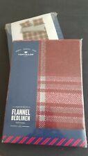 Tom Tailor Flanell Bettwäsche 80x80+135x200 cm kariert