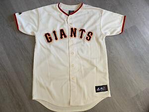 Majestic San Francisco Giants MLB Baseball Jersey Shirt #28 BUSTER POSEY - L/XL