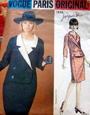 LOVELY VTG 1960s DRESS VOGUE PARIS JAQUES HEIM Sewing Pattern 12/32