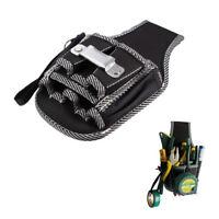 KQ_ KE_ BU_ Electrician Waist Pocket Tool Belt Pouch Bag Screwdriver Kit Holder