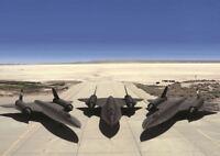 BLACKBIRD SR 71'S USAF A3 ART PRINT POSTER GZ041