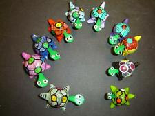 10 NEW TURTLE WOBBLES, LOOSE NECK TURTLES WITH MIXED MATERIALS