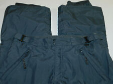 COLUMBIA SKI SNOW PANTS OMNI TECH INSULATED ADJUST WAIST GRAY WOMEN'S L ~EXCELL